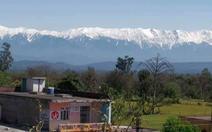 Lần đầu nhìn thấy dãy Himalaya từ miền bắc Ấn Độ sau 30 năm