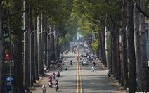 Sài Gòn những ngày không kẹt xe, không chen lấn và ít khói bụi
