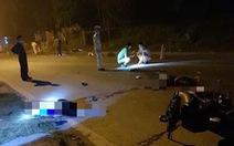 Hai xe máy đối đầu trong đêm, 3 thanh niên chết tại chỗ
