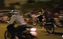Đi tuần tra ngăn chặn đua xe, một chiến sĩ bị 'quái xế' tông phải cưa chân