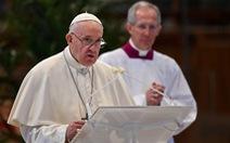 Giáo hoàng Francis nói COVID-19 'đang thử thách cả gia đình loài người chúng ta'