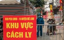 68% ca mắc COVID-19 ở Hà Nội không có triệu chứng bệnh