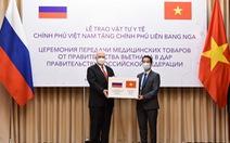 Việt Nam tặng Nga 150.000 khẩu trang chống COVID-19