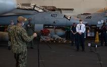Một thủy thủ trên tàu sân bay USS Theodore Roosevelt chết vì COVID-19