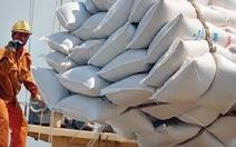 Từ 0h ngày 25-4, hải quan nhận tờ khai xuất khẩu lô gạo đã đưa vào cảng, cửa khẩu