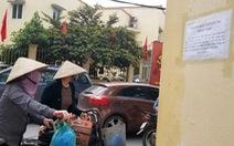 Tạm dừng 'ATM gạo' ở Nghĩa Tân do chen lấn sau 4 ngày hoạt động