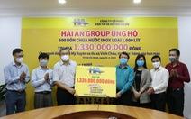 Hải An Group đóng góp hơn 1,3 tỉ đồng 'Nước cho vùng hạn mặn'