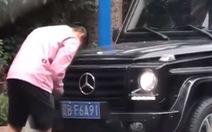 Tuyển thủ Trung Quốc trả giá đắt vì sửa biển số xe trái phép