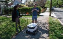 Robot, máy bay không người lái 'lên ngôi' mùa dịch