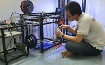 Sinh viên in 3D thiết bị giúp giảm đau khi đeo khẩu trang