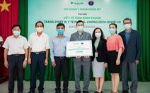 Tập đoàn Y khoa Hoàn Mỹ tài trợ trang thiết bị y tế cho Sở Y tế tỉnh Bình Thuận