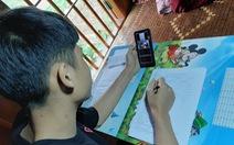 Học sinh miền núi 'dựng lán đón sóng' đã được học online tại nhà