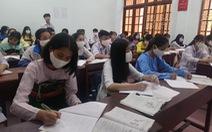 Học sinh THCS, THPT Thanh Hóa đi học lại từ ngày 21-4