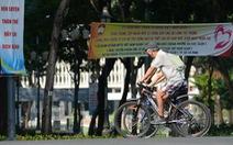 Thong thả đạp xe giữa Sài Gòn mùa phòng dịch COVID-19