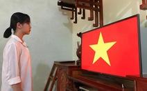 Học sinh đồng loạt chào cờ trực tuyến sáng đầu tuần