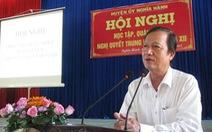 Nhiều sai phạm của nguyên bí thư, chủ tịch huyện mới nghỉ hưu ở Quảng Ngãi