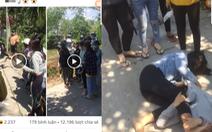 Xác minh hàng chục thanh niên tụ tập cổ vũ 2 cô gái đánh nhau