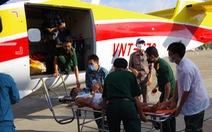 Thủy phi cơ đưa bệnh nhân từ Trường Sa về đất liền cấp cứu