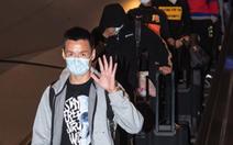 Đội  bóng Vũ Hán trở về nhà sau hơn 100 ngày mắc kẹt ở nước ngoài