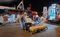 Cứu thuyền viên người nước ngoài, phải cách ly đội cứu nạn