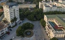 Sinh viên ĐH Quốc gia Hà Nội trở lại trường ngày 4-5