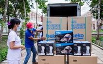 Chuyến xe quà tặng của Beko đến nơi tuyến đầu chống dịch