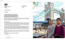 2 trẻ Việt tặng Anh 20.000 khẩu trang, đại sứ Anh cảm ơn 'món quà ý nghĩa'