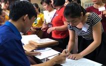 Thi tốt nghiệp THPT 2020: Bài thi tổ hợp vẫn có 3 đầu điểm
