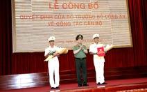 Thượng tá Huỳnh Việt Hòa làm giám đốc Công an tỉnh Hậu Giang