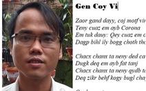 Chữ Việt Nam song song: dư luận đòi 'cách ly vĩnh viễn', tác giả nói sẽ viết sách