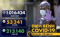 Dịch COVID-19 chiều 3-4: Singapore đóng cửa trường học, Trung Quốc tưởng niệm nạn nhân