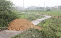 Một số nơi đắp đất chặn đường, lãnh đạo Quảng Ninh yêu cầu chấm dứt