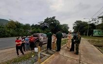 Truy đuổi 6 người trốn cách ly trên biên giới Việt - Lào