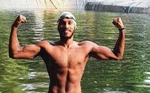 Bơi chung với... rùa để hướng đến Olympic