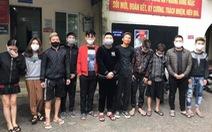 11 thanh niên tụ tập dùng ma túy trong mùa dịch