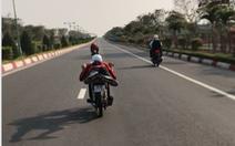 Bắt nhóm hút bồ đà đua xe trong khu du lịch, đường cao tốc