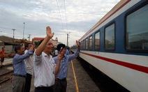 Chỉ đạo hạn chế bán vé xe lửa Hà Nội, Sài Gòn đến ga Tam Kỳ