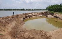 An Giang: 'cát tặc' vẫn lộng hành trên sông