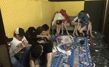 61 'dân chơi' thuê nhà nghỉ tổ chức tiệc 'bay lắc'