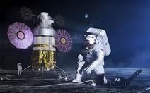 Xây dựng căn cứ trên Mặt trăng bằng 'vật liệu' bất ngờ
