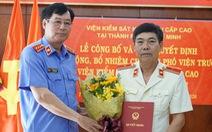 Ông Phạm Đình Cúc làm phó viện trưởng Viện KSND cấp cao tại TP.HCM