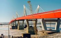 Nga chuẩn bị khai thông cây cầu đường bộ đầu tiên với Trung Quốc
