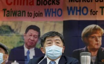 Đài Loan từ chối chấp nhận 'Một Trung Quốc' để vào WHO