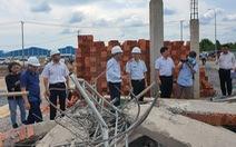 Công an đã bắt đầu giám định hiện trường vụ sập tường làm 10 người chết
