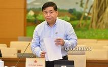 'Kinh tế ảnh hưởng nặng nề', Chính phủ báo cáo Quốc hội 2 kịch bản