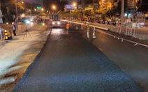 Gấp rút sửa chữa, nâng cấp tuyến đường ngập nước Nguyễn Hữu Cảnh
