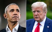 Ông Trump nói ông Obama 'bất tài', chính quyền tham nhũng