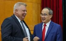 TP.HCM hội nghị trực tuyến với TP Saint Petersburg nhân sinh nhật Bác Hồ