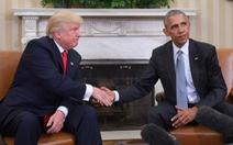 Vì sao ông Trump và ông Obama khẩu chiến?