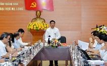 Chủ tịch UBND tỉnh Quảng Ninh kiêm nhiệm hiệu trưởng Trường ĐH Hạ Long